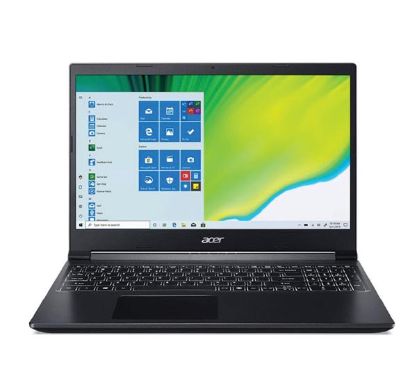 لپ تاپ ایسر 15اینچ Acer Aspire7 A715 : Core i5-10300H / 8GB RAM / 1TB SSD / 4GB GTX1650
